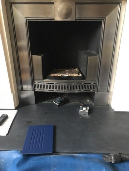 Fireplace provided by Mr. Gas Fire